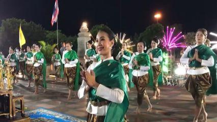 ชาวเพชรบูรณ์ 2,563 คน ฟ้อนรำถวายพระพุทธมหาธรรมราชา