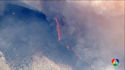 ไฟป่าเผาผลาญพื้นที่ป่าไปของสหรัฐฯ เกือบ 10 ล้านไร่ในช่วงฤดูร้อน