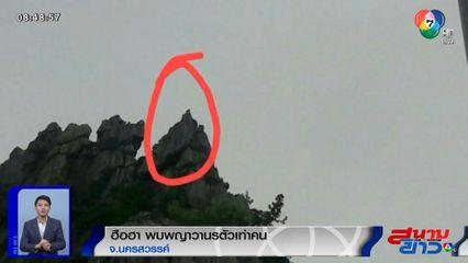 ภาพเป็นข่าว : ฮือฮา! พบพญาวานรตัวเท่าคน บนยอดเขาหน่อ จ.นครสวรรค์