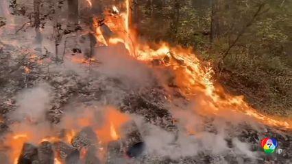 คืบหน้าเหตุไฟป่ารัฐแคลิฟอร์เนีย เสียชีวิต 3 คน