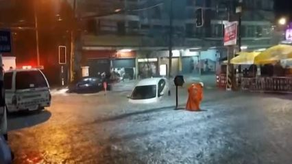ฝนถล่มหนัก ตัวเมืองโคราชจมบาดาล กรมอุตุฯ เตือนทั่วไทยรับมือฝนตกหนัก