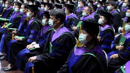 สมเด็จเจ้าฟ้าฯ กรมพระศรีสวางควัฒน วรขัตติยราชนารี เสด็จแทนพระองค์ ไปในการพระราชทานปริญญาบัตรแก่ผู้สำเร็จการศึกษาจากมหาวิทยาลัยเกษตรศาสตร์ ประจำปีการศึกษา 2562 เป็นวันสุดท้าย