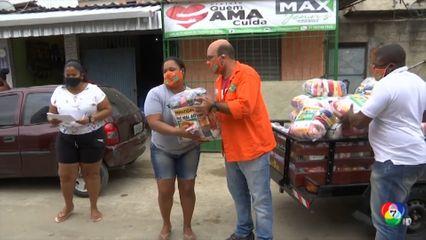 บราซิลบริจาคอาหารให้ผู้ได้รับผลกระทบจากการแพร่ระบาดโรคโควิด-19