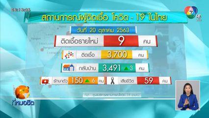 พบผู้ป่วยติดเชื้อโควิด-19 ในไทยเพิ่ม 9 คน เดินทางมาจากต่างประเทศ