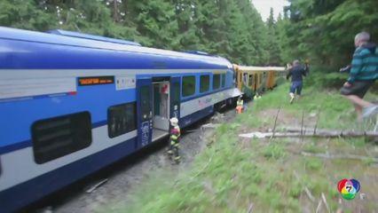 รถไฟพุ่งชนกันในสาธารณรัฐเช็ก เสียชีวิต 2 คน