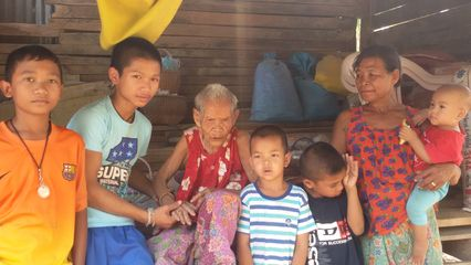 รูป คุณยายวัย 101 ปี