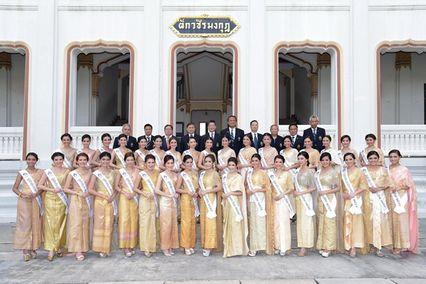 """ชาเลนจ์แรกของ 34 โฉมงาม """"นางสาวไทย เดอะ เรียลลิตี้"""" ในการค้นหาสาว """"งามอย่างไทย"""" กับการถ่ายภาพ Profile ชุดไทย"""