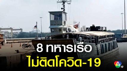 ยืนยันทหารเรือหลวงวังใน 8 นาย ไม่ติดเชื้อโควิด-19