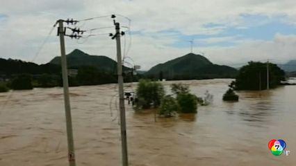 เขื่อนจีนแตก ส่งผลเร่งอพยพประชาชนหลายแสนคนหนีน้ำท่วม