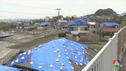 ญี่ปุ่นเตรียมพร้อมรับมือไต้ฝุ่นฮากีบิส