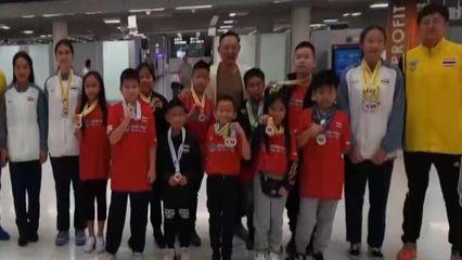 เด็กไทยโชว์ลีลาแข่งขันสแต็กชิงแชมป์เอเชีย 2019 คว้าเหรียญทอง