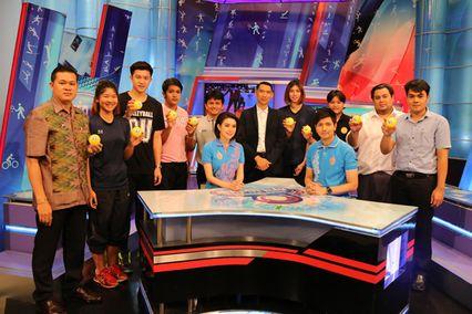 """ช่อง 7 สี จับมือสมาคมกีฬาวอลเลย์บอลแห่งประเทศไทยจัดการแข่งขัน """"แชมป์กีฬา 7 สี วอลเลย์บอลอุดมศึกษา 2016"""" ชิงเงินรางวัลมูลค่ารวมกว่า 2.2 ล้านบาท"""
