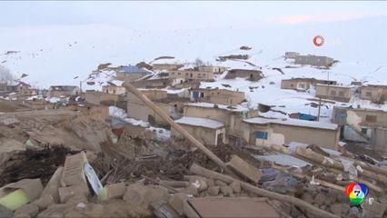 คืบหน้าแผ่นดินไหวเขย่าตุรกี ดับแล้ว 9 คน บาดเจ็บอีก 100 คน