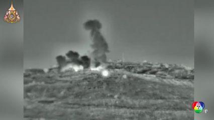 อิสราเอลโจมตีเป้าหมายทางทหารในซีเรีย