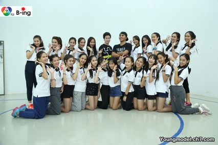 สาวน้อยหน้าใส Young Model 2015 ทั้ง 24 คน เข้าร่วม Workshop
