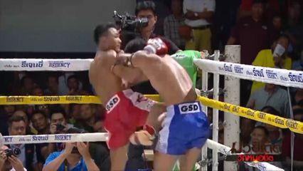 มวยเด็ด วิกหมอชิต : ผลมวยไทย 7 สี 6 ต.ค.62 ยอดมีชัย เกียรติจำรูญ vs สิงห์ดำ ศิษย์นายกอนงค์