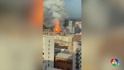โรงงานผลิตน้ำมันกัญชาระเบิดที่นครลอสแอนเจลิส