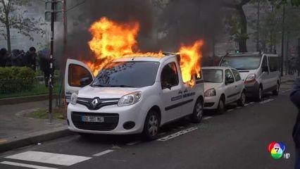 ตร.ยิงก๊าซน้ำตาใส่ผู้ประท้วงครบรอบ 1 ปี เสื้อกั๊กเหลือง ในฝรั่งเศส