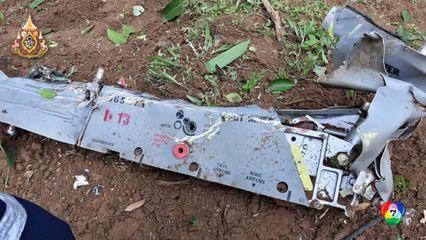 เครื่องบินตกที่เชียงใหม่ นักบิน ทอ. เสียชีวิต 1 เจ็บ 1