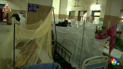 ไข้เลือดออกระบาดหนัก ในบังกลาเทศ