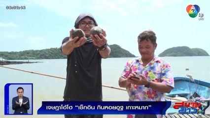 เจษฎาโอ้โฮ : เช็กอิน กินหอยอูฐ เกาะหมาก จ.ตราด