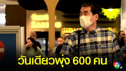 ผู้ติดเชื้อไวรัสโควิด-19 เกาหลีใต้พุ่งเกือบ 600 คน ในวันเดียว