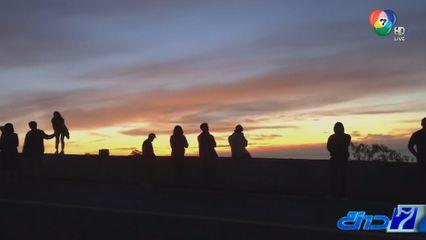 นักท่องเที่ยวแห่รับลมหนาว เหนือ-อีสาน คึกคัก หลังสภาพอากาศเริ่มเย็นลง
