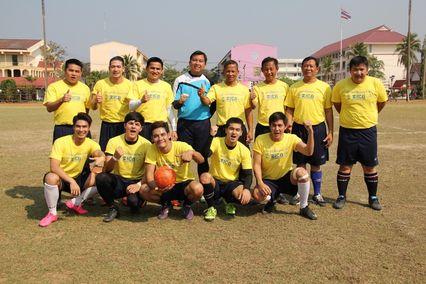 ช่อง 7 สี ส่ง ทีมนักแสดงดวลแข้งศึกฟุตบอลกระชับมิตร มอบความสุขสู่พี่น้องชาวสกลนคร