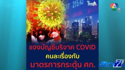 รัฐบาลแจงปมเปิดรับเงินบริจาคสู้ภัยโควิด-19