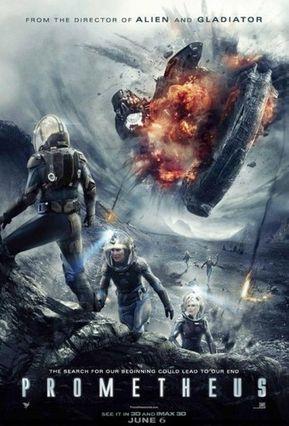 """ภ.ฝรั่ง (Sci-Fi สนั่นจอ) โปรแกรมเพชรหนังพันล้าน เรื่อง """"โพรมีธีอุส ยานสยองจักรวาล"""" (PROMETHEUS)"""