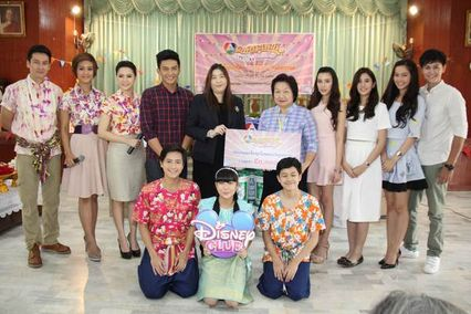 โหน-พีพี  นำทีม พีธีกร ผู้ประกาศช่าว ช่อง 7 สี ร่วมกิจกรรม 7 สี รักษ์ประเพณีปีใหม่ไทย – รักษ์น้ำแบบไทย ขอพรผู้ใหญ่ วันสงกรานต์