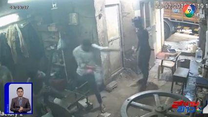 ภาพเป็นข่าว : หนุ่มอินเดียเอามือถือไว้ในกระเป๋ากางเกง จู่ๆ เกิดระเบิด ถูกลวกบาดเจ็บ