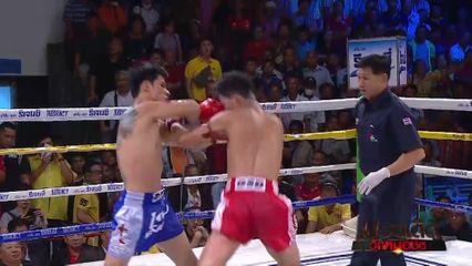 มวยเด็ด วิกหมอชิต : ผลมวยไทย 7 สี 15 ก.ย.62 เมสซี่ แป๋งกองปราบ vs วันชนะ น.นริสสร