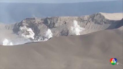 ภูเขาไฟตาอัลในฟิลิปปินส์ ยังพ่นเถ้าถ่าน-หมอกควัน ต่อเนื่อง