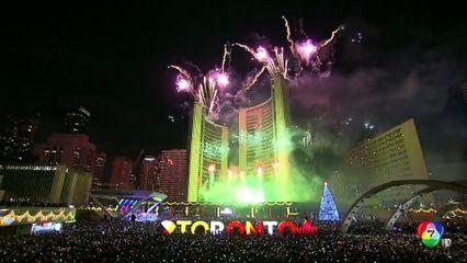 ตระการตา! หลายประเทศเฉลิมฉลองต้อนรับปีใหม่ จัดเต็มพลุ-แสงสีเสียง