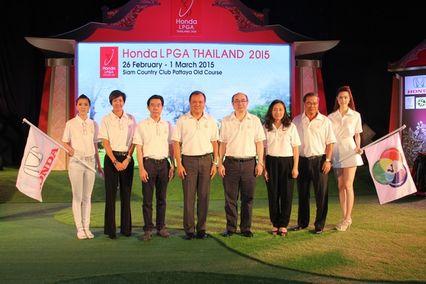 """""""ช่อง 7 สี"""" จับมือ """"ฮอนด้า"""" เตรียมรับนักกอล์ฟสตรีระดับเวิลด์คลาสร่วมแข่ง Honda LPGA THAILAND 2015 ชิงเงินรางวัล 1.5 ล้านเหรียญสหรัฐ วันที่ 26 กุมภาพันธ์ – 1 มีนาคม 2558 ที่ สยามคันทรีคลับ พัทยา โอลด์ค"""