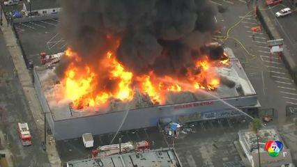 เหตุเพลิงไหม้ในสหรัฐฯ-ท่อน้ำมันระเบิดในไนจีเรีย
